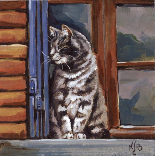 Sur la fenêtre