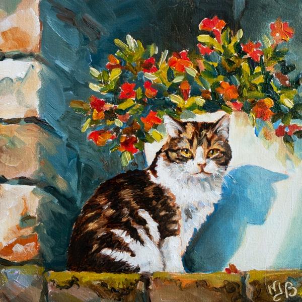 la chatte de Marie Chamany