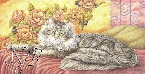 Sa majesté - Crayons de couleur - 60 x 40 cm - dispo