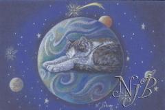 La planète des chats - 14 x 20 cm Vendu