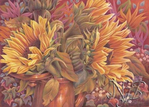 Tournesols - 40 x 50 cm Vendu