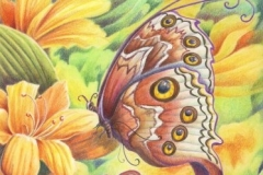 Papillon féerique - 20 x 30 cm
