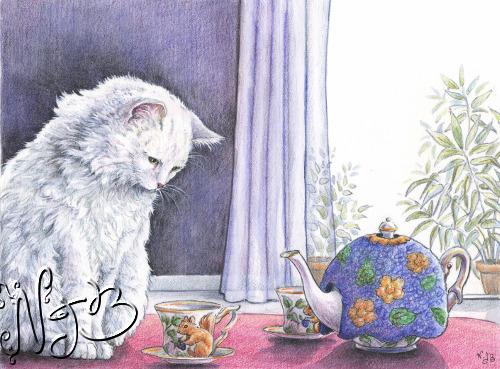 Illustration Trois chats