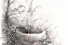 Illustration Un doigt sur les lèvres