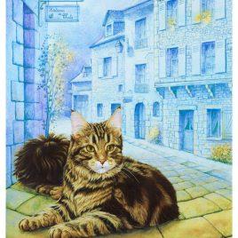 Carte postale » Histoires de chat»