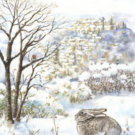 Carte postale » Le lapin de Cordes»