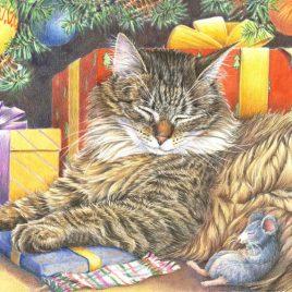 Carte postale «Trêve de Noël»