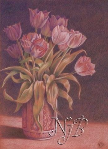 Tulips drawing