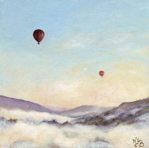 landscape painting , acrylic painting