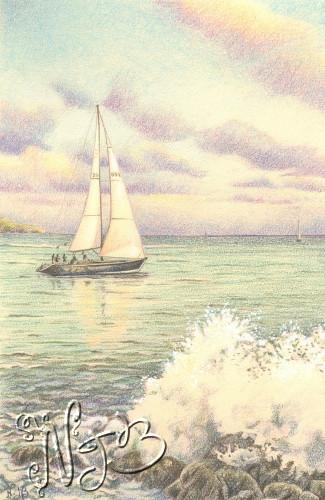 Marine drawing